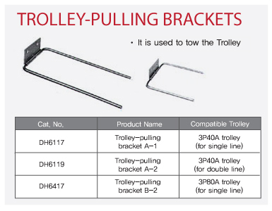 Trolley Pulling Brackets